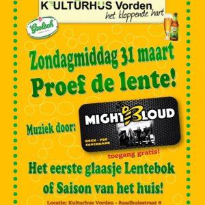 Lente party zondag 31 maart @ Kulturhus Vorden