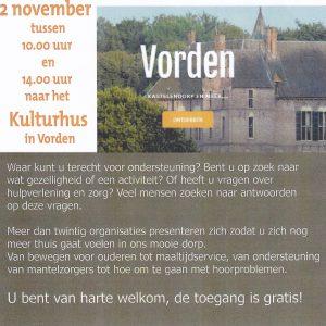 Informatie markt @ Kulturhus Vorden   Vorden   Gelderland   Nederland