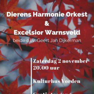 Concert in Herfstkleuren @ Kulturhus Vorden | Vorden | Gelderland | Nederland