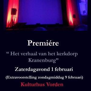 Het Verhaal van het Kerkdorp Kranenbru @ Kulturhus Vorden