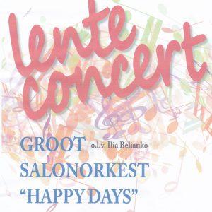lenteconcert groot salonorkest Happy Days @ Kulturhus Vorden