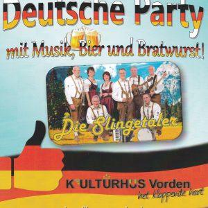 Deutsche Party m.m.v. Die Slingertaler